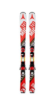 Atomic Redster Skier: Accomplished young skiers looking for high performance Ski Club, Twin Tips, Custom Boots, Sports Equipment, Skiing, Jr, Centre, Polo, Snowboards
