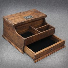 Personalized Men's Valet and Watch box with by OurWeddingInvites