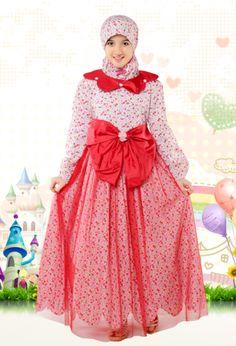 Contoh Model Gaun Muslim Anak Terbaru 0d456827dc