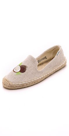 Soludos Embroidered Smoking Slipper Espadrilles | SHOPBOP