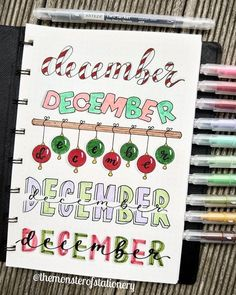 The ultimate collection of bullet journal header and title ideas for inspiration! December Bullet Journal, Bullet Journal Headers, Bullet Journal Banner, Bullet Journal Writing, Bullet Journal 2020, Bullet Journal Aesthetic, Bullet Journal Ideas Pages, Bullet Journal Layout, Bullet Journal Inspiration
