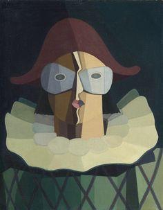 Emilio Pettoruti (Argentine, 1892-1971), Estudio para El Indeciso, 1949.