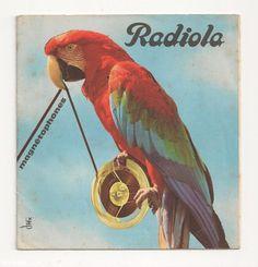Dépliant publicitaire magnétophones Radiola