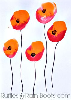 From+Ruffles+and+Rain+Boots:+balloon+painting+for+kids;+Veteran's+day+craft,+Memorial+Day+craft,+quick+toddler+crafts
