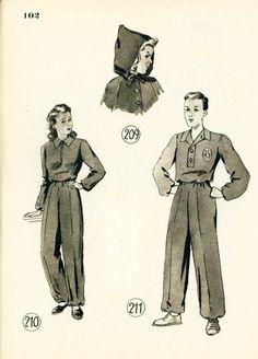 Lutterloh 1949 Book Models 209 - 211