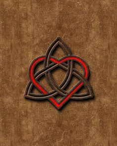 Valentines Heart Celtic Knot   great tattoo idea