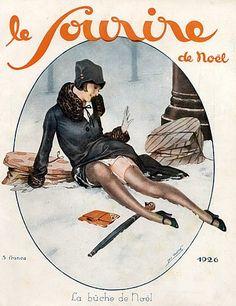 Léo Fontan (1884 – 1965). Le Sourire, 1926. [Pinned 3-ii-2015]