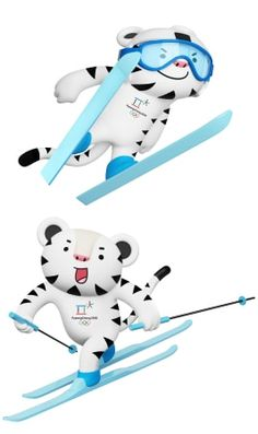 PyeongChang will host the XXIII Olympic Winter Games, Feb. Find voting results and all the latest news as South Korea prepares for the Games. Youth Olympic Games, Olympic Mascots, Go Usa, 2018 Winter Olympics, Winter Games, Skiing, Korea, Nature, Sports