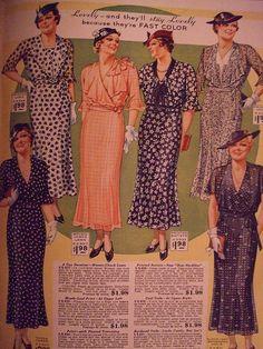 1935 Spring/Summer Lane Bryant Catalog