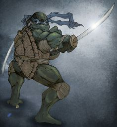 """""""A true Ninja is a master of himself and his environment, so don't forget: We're turtles!"""" -Leonardo"""
