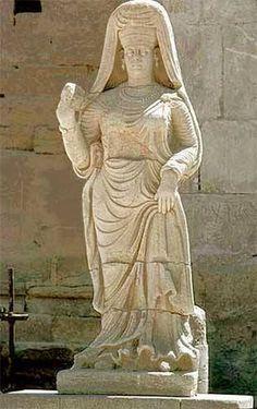 Parthian city of Hatra, ca 2nd cen Bc- 2nd Century AD, present Iraq- Mousel.