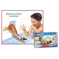 Hot Wheels® Tub Tracks Set - Toys, Games, Electronics & Crafts – Educational, Imaginative & Fun