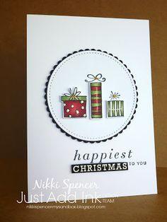 """Nikki Spencer-My Sandbox: Just Add Ink #368...""""Add a Twist"""" #happiestofdays #stampinup"""
