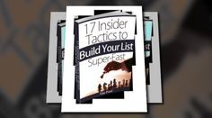 'Make Money Online: 17 Insider Tactics to Build Your List Super-Fast' - created with Animoto. Click to watch the video!