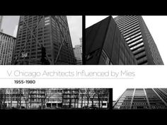 This inspirational video was created in honor of Ludwig Mies van der Rohes 127th birthday and debuted at his annual birthday celebration, sponsored by the Mies Society, on March 13, 2013.