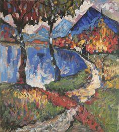 Wassily_Kandinsky-Murnau.gif (542×600) Franz Marc, Abstract Landscape, Abstract Art, Kandinsky Art, Picasso Paintings, Van Gogh Art, Art Abstrait, Russian Art, Art And Architecture