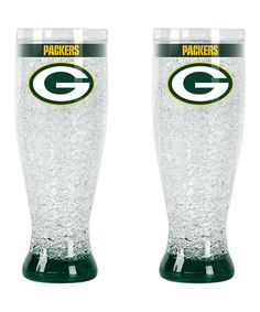 Look at this #zulilyfind! Green Bay Packers Flared Pilsner by Duck House #zulilyfinds