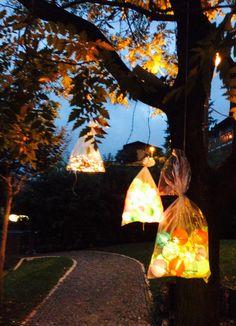 Le luci decorative per la festa Luci Decorative, Mini, Celestial, Sunset, Outdoor, Party, Outdoors, Sunsets, Outdoor Games