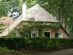 Old Dutch Farm - this looks almost exactly like my family's old farmhouse near Uden, Holland
