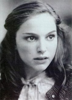 Natalie Portman, as Anne Frank in a Broadway Production of The Diary of Anne Frank