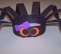 Art spider headband classroom-ideas