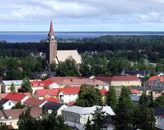 View to Old Raahe, Finland.