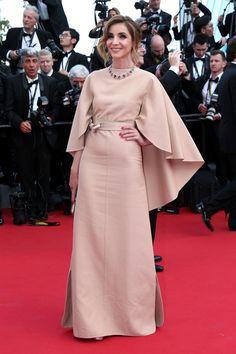 Cannes 2015 - Clotilde Coureau in Valentino couture - Day 1 (cérémonie d'ouverture)