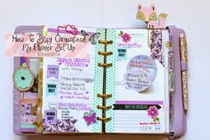 BelindaSelene: My Kikki K and Erin Condren Planner Set Up