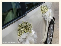 קישוט רכב wedding car decoration