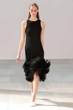 The Prettiest Dresses From Fashion Week #refinery29  http://www.refinery29.com/2014/10/75461/best-dresses-fashion-week-2014#slide9   Céline, take two. Because who can resist that swish?