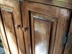 Get a high-end look for less with an easy-to-do gel stain process for wooden…