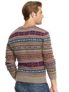 Fair Isle Wool Sweater - Crewneck Sweaters - RalphLauren.com
