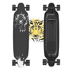 Electric Skateboard, 400W Brushless Motor Electric Skateboard with Remote, 20 MPH & 10 Miles Long-Range, 3 Speeds Adjustment, Max Load 265 lbs, Creative Version 11 Layers Maple Electric Skateboard COOL & FUN: Electric longboard brings you beautiful scenery, designing for happy time and cool cruising. Buy it now and begin joyful journey of electric longboard.(Maintain safety with UL certified battery) MULTIFUNCTIONAL REMOTE: Portable electric skateboard with remote, take you to enjoy the Motorized Skateboard, Electric Skateboard, Kid N Teenagers, Longboarding, Multifunctional, Remote, Ebay, Creative, Beautiful Scenery