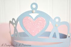 Might have to put this Disney Cricut Cartridge on my wish list so I can make A a cute crown. - Cricut Princess Party Cartridge Paper Princess Crown