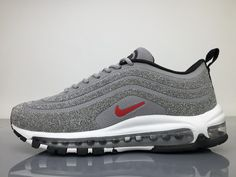 Online UA Air Max 97 Undefeated White Green Red Sneakers
