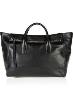 Miu Miu|Leather trapeze bag| $1950