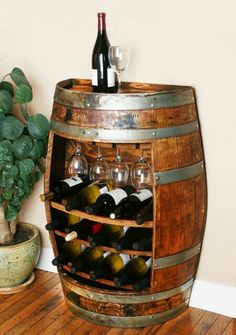 Barrel Wine Rack