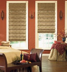 Bali® Tailored Roman Shades - Patterns and Stripes