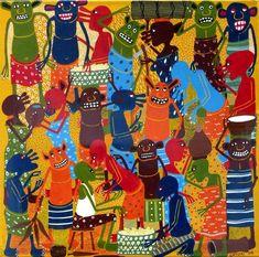 Mashetani by Sayuki ( Tanzania, African, Display, Pocket, Artist, Painting, Billboard, Artists, Painting Art