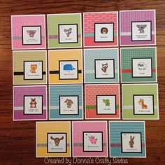 Operation Smile stamps 2015 by Donna Cosgrove