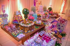 Festa Infantil - Jardim das bonecas da Liz