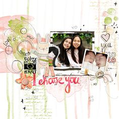 digital layout made by Flor using I Choose you by Little Butterfly Wings