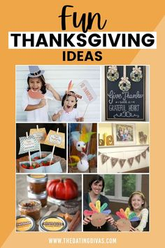Fun Thanksgiving ideas, games, activities, and crafts Grateful Heart, Thankful, Give Thanks, Free Printables, How To Memorize Things, Thanksgiving, Homemade, Activities, Fun
