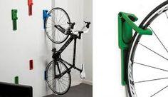 Resultado de imagen para soporte para bici pared