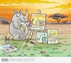 The artist within has it's own perspective...