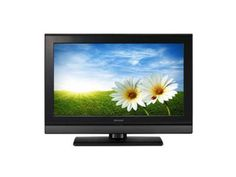 Sharp LC19SH7EBK 19-inch Widescreen LCD TV with Built-in Freeview with Virtual Surround Sound