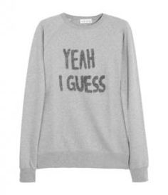 Yeah I Guess Sweatshirt by Lulu & Co. // I want dis :3