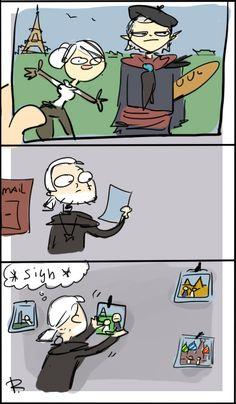 The Witcher 3, doodles 147 by Ayej.deviantart.com on @DeviantArt