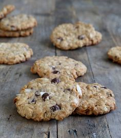 Gluten Free Cowboy Cookies - Gluten-Free on a Shoestring