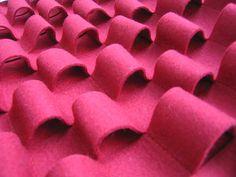Wool felt sound insulation and sound absorbing panel LOOP | Sound insulation and sound absorbing panel - Anne Kyyrö Quinn
